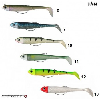 Dam Effzeet® Kick-S Minnow Weedless Paddle Tail