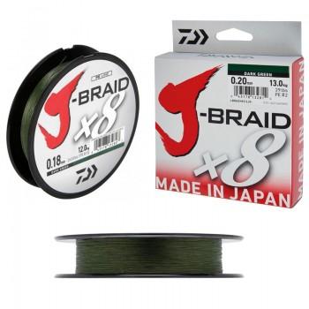 Daiwa J-Braid Χ8 Green 300m