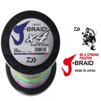 Daiwa 4 J-Braid Multi 1500m