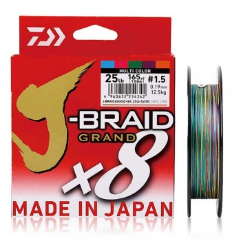 Daiwa J-Braid Grand X8 Multi 150m