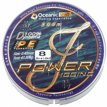 Oceanic Power Jigging 8-Braid 300m