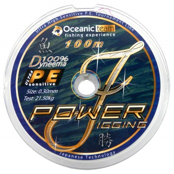 Oceanic Power Jigging 4 Braid 100m