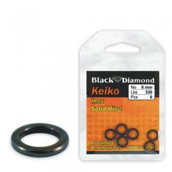 Black Diamond Keiko Solid Rings