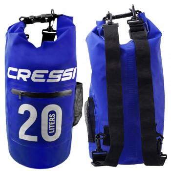 Cressi Dry Bag Zip Pocket 20Lt