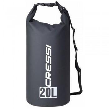 Cressi Dry Bag Black 20Lt