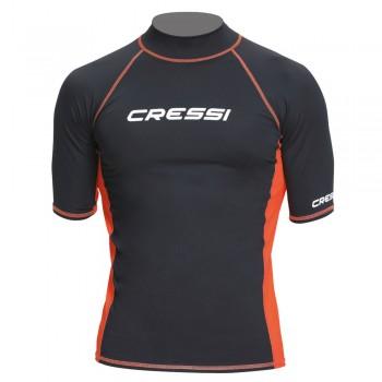 Cressi Rash Guard Short Men Black