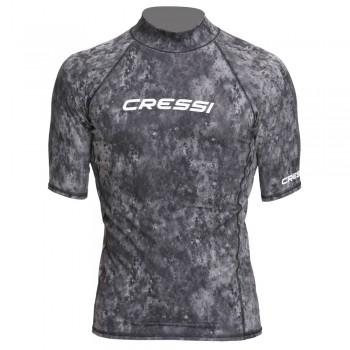 Cressi Rash Guard Short Men Camouflage