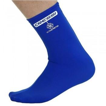 Cressi Elastic Water Socks Blue