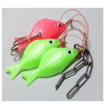Χταποδιέρα Tecnofish με 3 ψαράκια