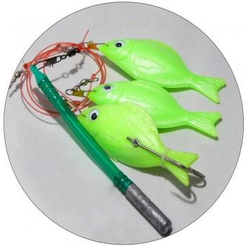 Χταποδιέρα Tecnofish με 3 ψαράκια Tiroler