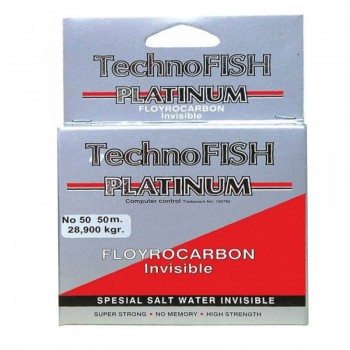 Technofish Platinum Flurocarbon 50m