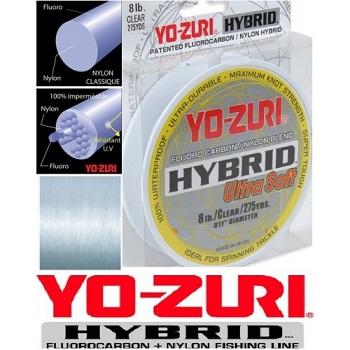 Yo-Zuri Hybrid Ultra Soft Fluorocarbon 250m