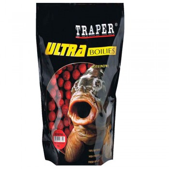 Traper Ultra Boilies Strawberry 16mm