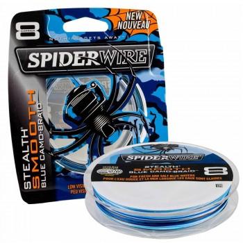SpiderWire 8 Blue Camo 300m
