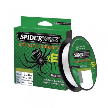 SpiderWire Stealth Smooth 8 Crystal 150m